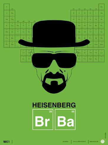 Heisenberg Poster Art Print
