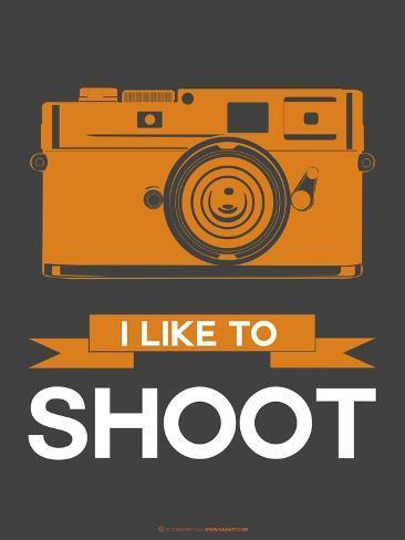 I Like to Shoot 1 Art Print