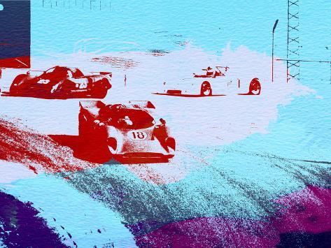 Le Mans Racing Laguna Seca Plastic Sign