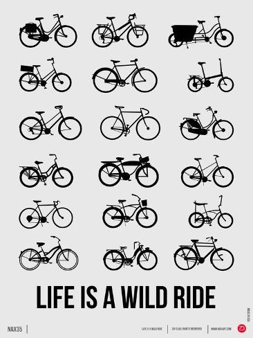 Life is a Wild Ride Poster I Art Print