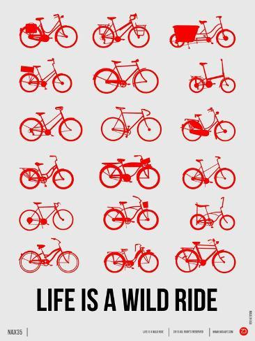 Life is a Wild Ride Poster II Art Print