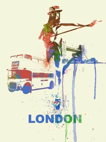 London Romance Art Print