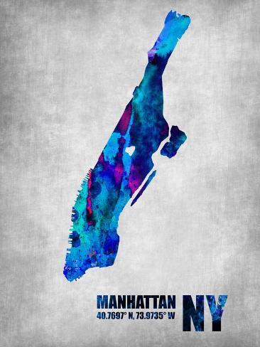 Manhattan New York Art Print