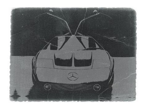 Mercedes Benz C Iii Concept Art Print