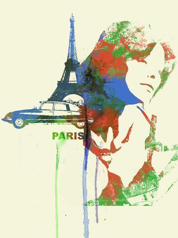 Paris Romance Plastic Sign