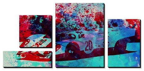 Porsche 917 Gulf Canvas Art Set