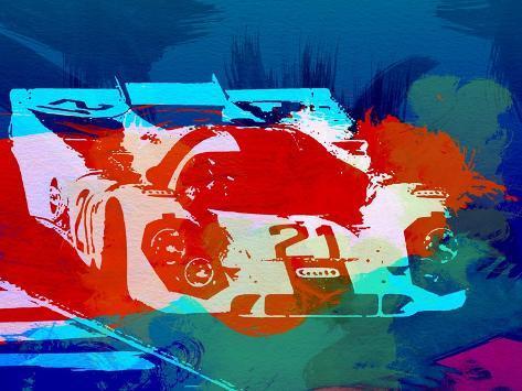 Porsche 917 Racing 1 Art Print
