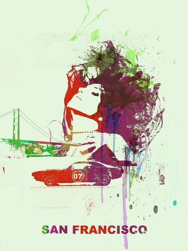 San Francisco Romance Art Print