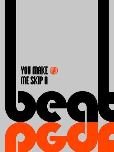 Skip a Beat Poster Art Print