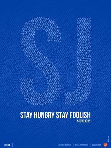 Steve Jobs Quote Poster Art Print