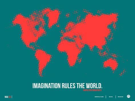World map quote poster 2 posters by naxart allposters world map quote poster 2 gumiabroncs Choice Image