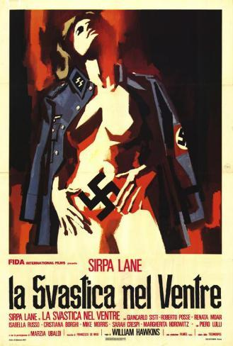 Nazi Love Camp - Italian Style Poster