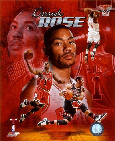 NBA Derrick Rose 2011 Portrait Plus Photo