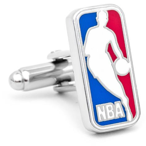NBA Logo Cufflinks Novelty