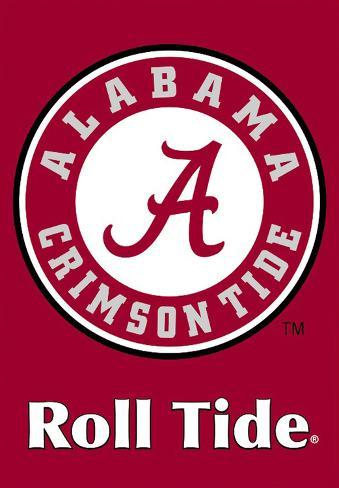 NCAA Alabama Crimson Tide 2-Sided House Banner Flag
