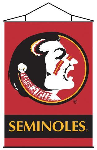 NCAA Florida State Seminoles Indoor Banner Scroll Wall Scroll