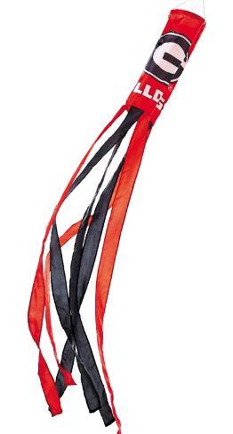 NCAA Georgia Bulldogs Wind Sock Flag