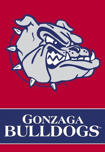 NCAA Gonzaga Bulldogs 2-Sided House Banner Flag