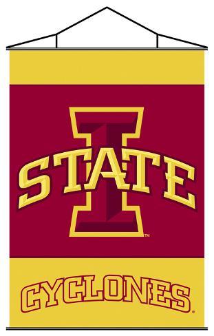 NCAA Iowa State Cyclones Indoor Banner Scroll Wall Scroll