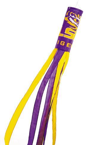 NCAA Louisiana State Tigers Wind Sock Flag