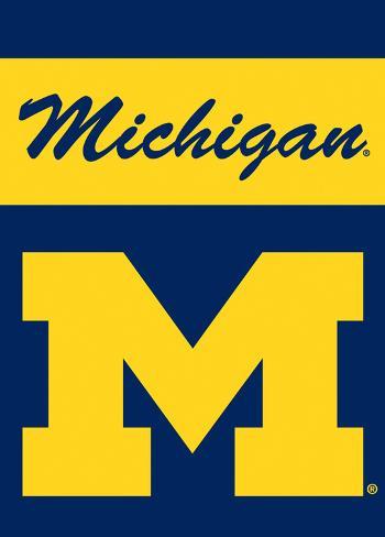 NCAA Michigan Wolverines 2-Sided Garden Flag Flag