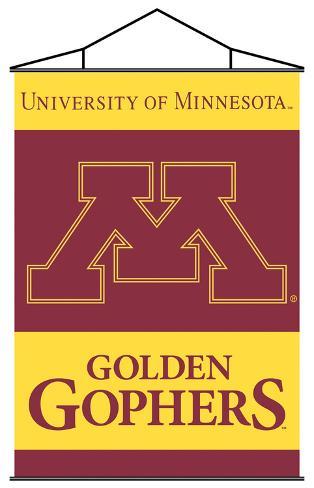 NCAA Minnesota Golden Gophers Indoor Banner Scroll Wall Scroll