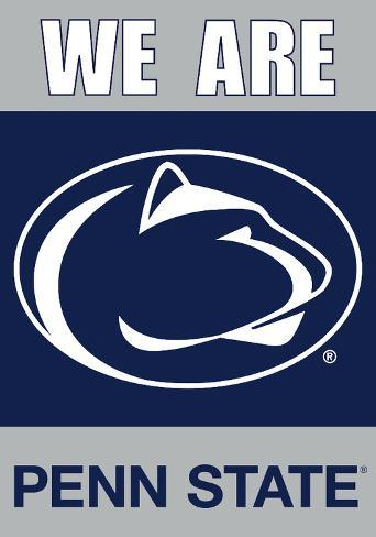 NCAA Penn State Nittany Lions 2-Sided House Banner Flag