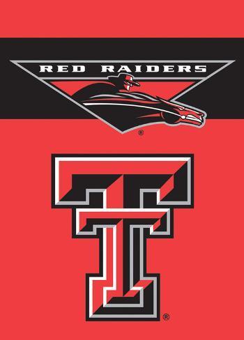 NCAA Texas Tech Red Raiders 2-Sided Garden Flag Flag