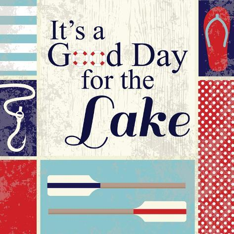 Lake I Premium Giclee Print