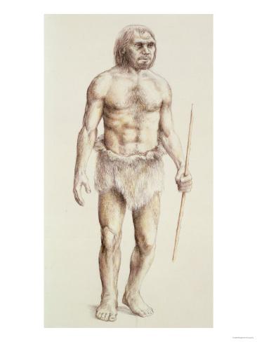 Neanderthal Man Lámina giclée