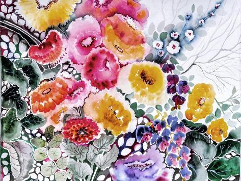 Come Walk in My Garden Giclee Print