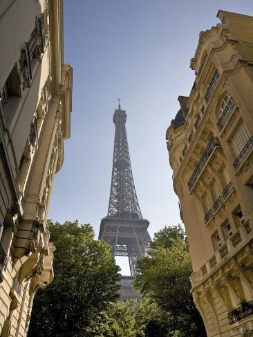Eiffel Tower, Paris, France Photographic Print