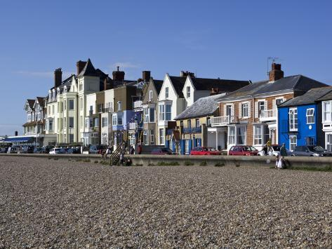 Seafront Buildings at Aldeburgh Photographic Print