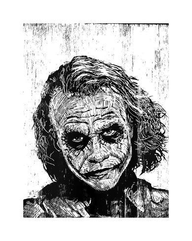 The Joker Impressão giclée