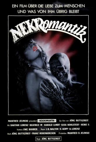 Nekromantik - German Style Poster