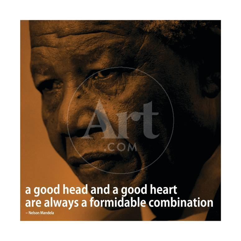 Nelson Mandela Quote Inspire 2 Motivational Poster Poster At