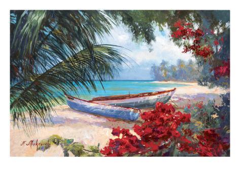 Tropical Hideaway Art Print