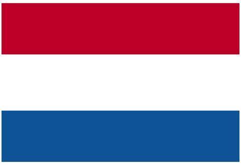 Netherlands National Flag Poster Print Poster
