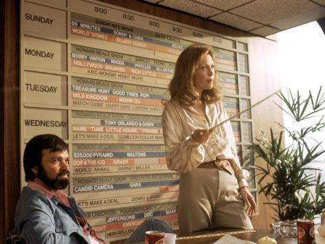 Network, Darryl Hickman, Faye Dunaway, 1976 Photo