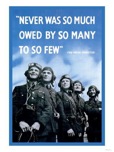 Never Was So Much Owed by So Many to So Few Art Print