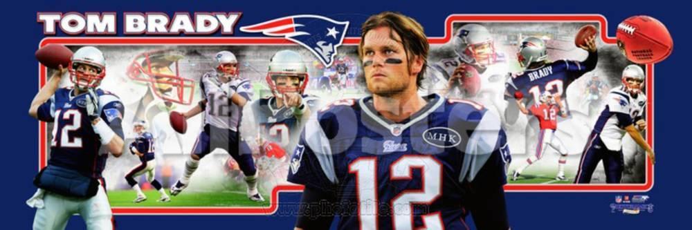 4e5c2d547 New England Patriots - Tom Brady Panoramic Photo Photo at AllPosters.com