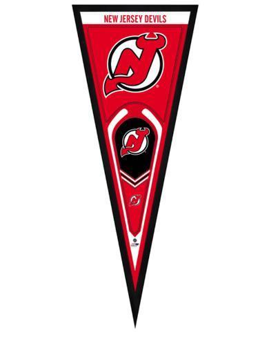 New Jersey Devils Pennant Framed Memorabilia