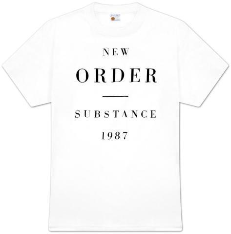 New Order - Substance 1987 T-Shirt