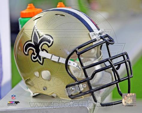 New Orleans Saints Helmet Photo