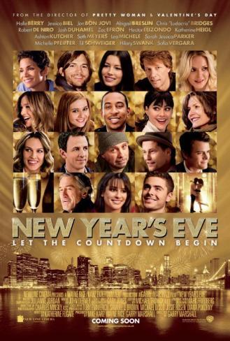 New Years Eve Double-sided poster
