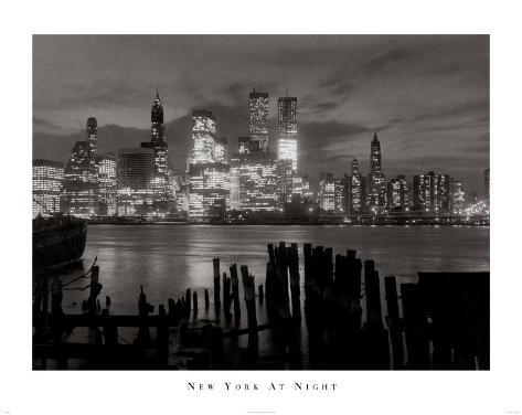 New York at Night Art Print