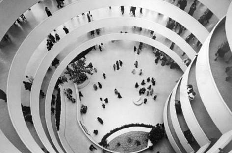 New York City Guggenheim Museum 1965 Archival Photo Poster Print Masterprint