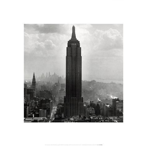 New York Collection Empire State Building Art Print
