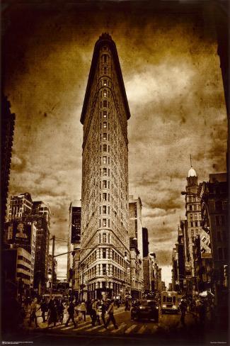 New York Flat Iron Poster