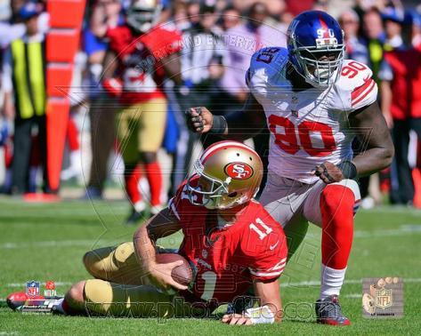 New York Giants - Jason Pierre-Paul Photo Photo